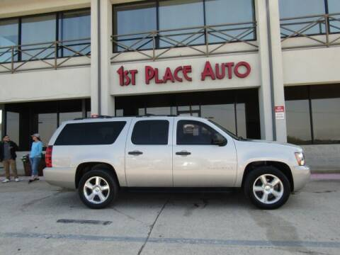 2007 Chevrolet Suburban for sale at First Place Auto Ctr Inc in Watauga TX