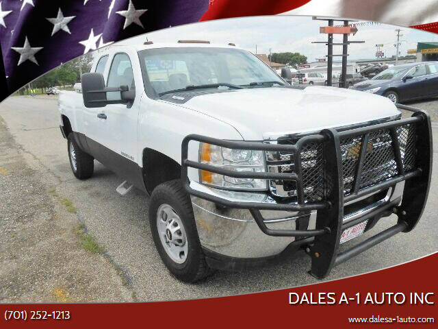 2013 Chevrolet Silverado 2500HD for sale at Dales A-1 Auto Inc in Jamestown ND