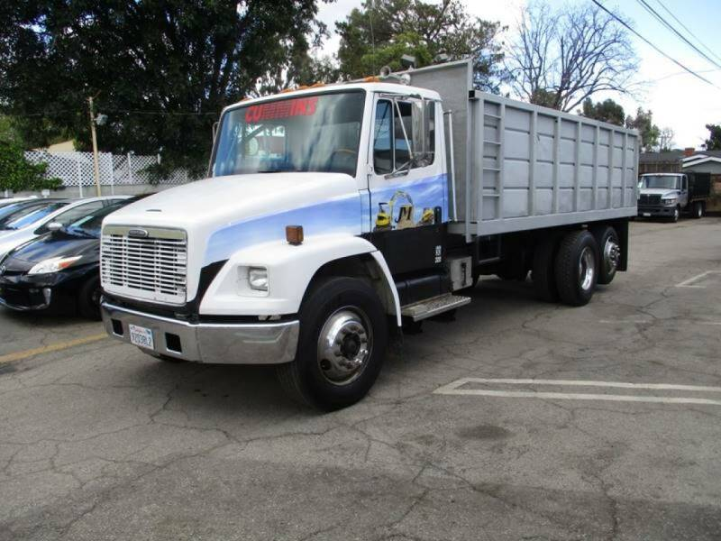 1999 Freightliner AK DUMP TRUCK for sale at I C Used Cars in Van Nuys CA