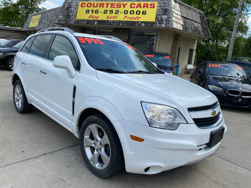 2014 Chevrolet Captiva Sport for sale at Courtesy Cars in Independence MO