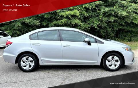 2015 Honda Civic for sale at Square 1 Auto Sales - Commerce in Commerce GA