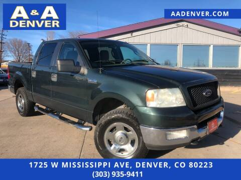 2005 Ford F-150 for sale at A & A AUTO LLC in Denver CO