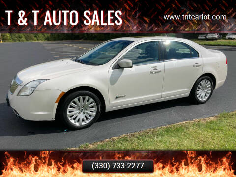 2010 Mercury Milan Hybrid for sale at T & T Auto Sales in Akron OH
