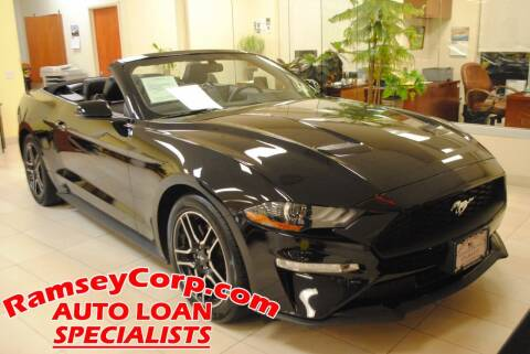 2020 Ford Mustang for sale at Ramsey Corp. in West Milford NJ