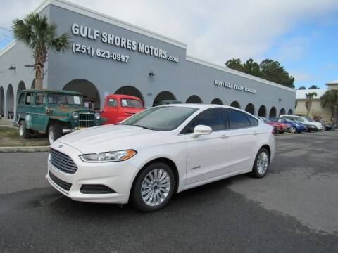 2014 Ford Fusion Hybrid for sale at Gulf Shores Motors in Gulf Shores AL