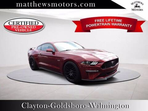 2019 Ford Mustang for sale at Auto Finance of Raleigh in Raleigh NC