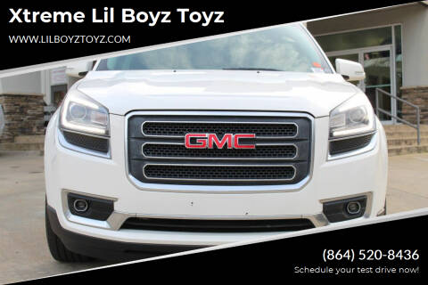 2014 GMC Acadia for sale at Xtreme Lil Boyz Toyz in Greenville SC