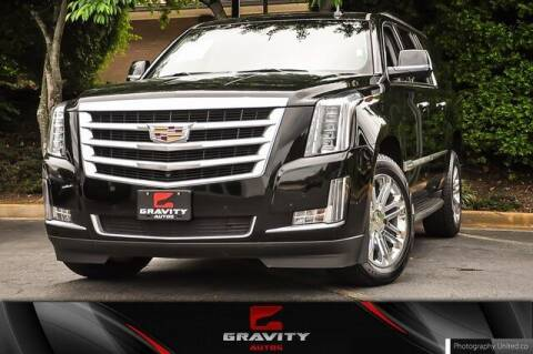 2018 Cadillac Escalade ESV for sale at Gravity Autos Atlanta in Atlanta GA