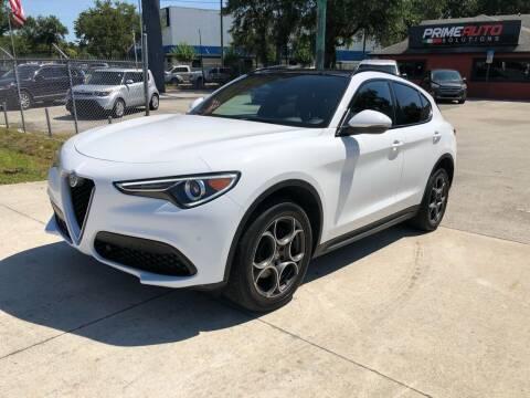 2018 Alfa Romeo Stelvio for sale at Prime Auto Solutions in Orlando FL