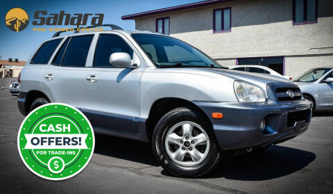 2005 Hyundai Santa Fe for sale at Sahara Pre-Owned Center in Phoenix AZ