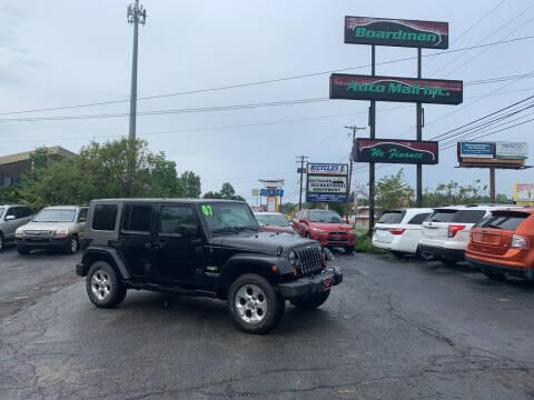 2007 Jeep Wrangler Unlimited for sale at Boardman Auto Mall in Boardman OH