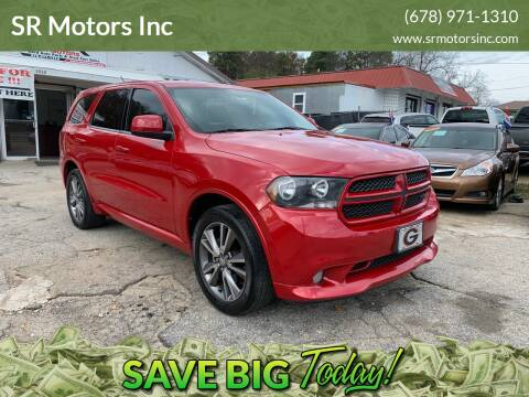 2013 Dodge Durango for sale at SR Motors Inc in Gainesville GA