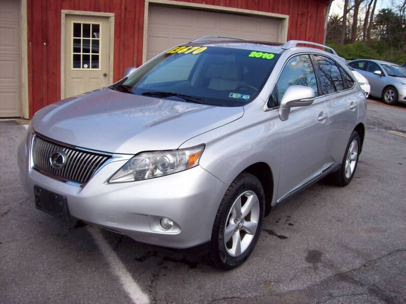 2010 Lexus RX 350 for sale at Clift Auto Sales in Annville PA