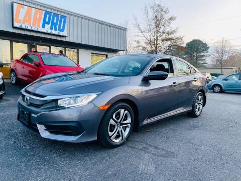 2016 Honda Civic for sale at Carpro Auto Sales in Chesapeake VA