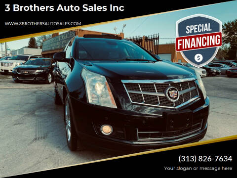2011 Cadillac SRX for sale at 3 Brothers Auto Sales Inc in Detroit MI