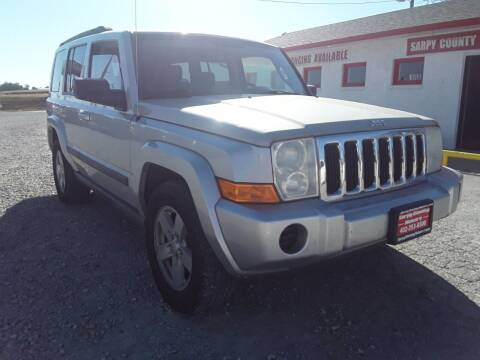 2007 Jeep Commander for sale at Sarpy County Motors in Springfield NE