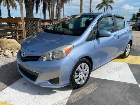 2014 Toyota Yaris for sale at D&S Auto Sales, Inc in Melbourne FL