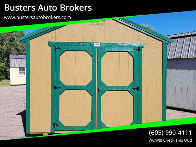 2021 Old Hickory Building 10 X 12 Utility Building for sale at Busters Auto Brokers in Mitchell SD
