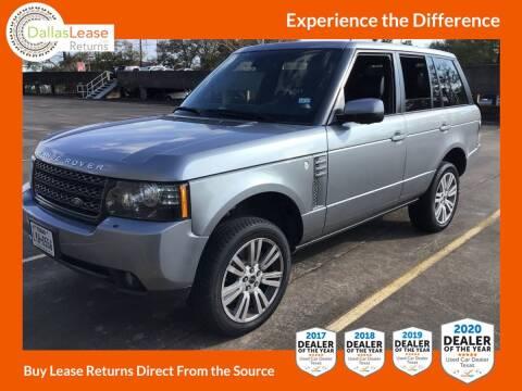 2012 Land Rover Range Rover for sale at Dallas Auto Finance in Dallas TX
