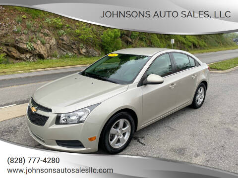 2014 Chevrolet Cruze for sale at Johnsons Auto Sales, LLC in Marshall NC