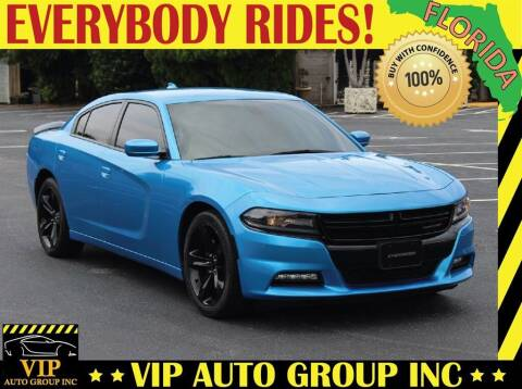 2018 Dodge Charger for sale at VIP Auto Group in Clearwater FL