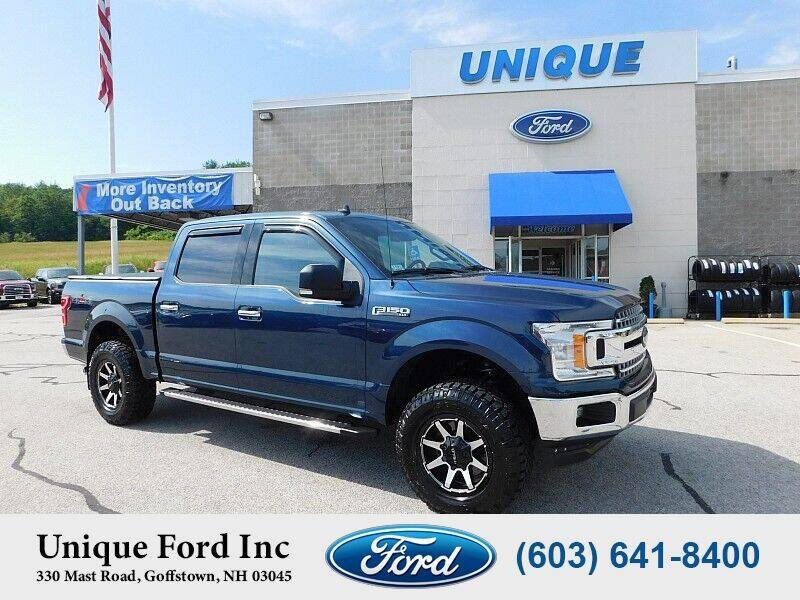 2019 Ford F-150 for sale at Unique Motors of Chicopee - Unique Ford in Goffstown NH