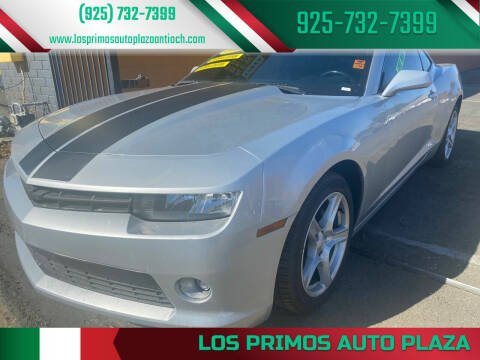 2015 Chevrolet Camaro for sale at Los Primos Auto Plaza in Antioch CA