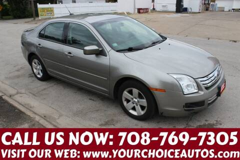 2009 Ford Fusion for sale at Your Choice Autos in Posen IL