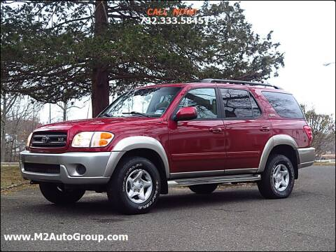 2002 Toyota Sequoia for sale at M2 Auto Group Llc. EAST BRUNSWICK in East Brunswick NJ