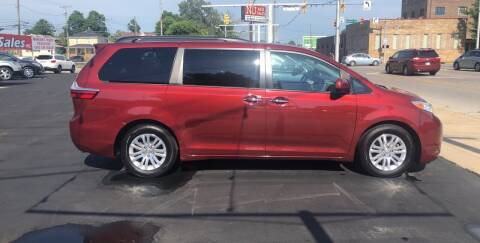 2016 Toyota Sienna for sale at N & J Auto Sales in Warsaw IN