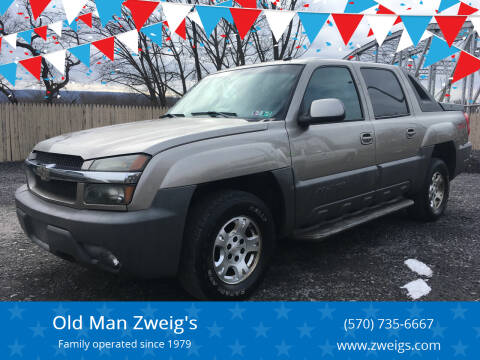 2002 Chevrolet Avalanche for sale at Old Man Zweig's in Plymouth Township PA