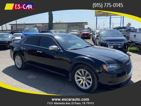 2012 Chrysler 300 for sale at Escar Auto in El Paso TX