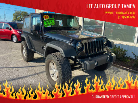 2013 Jeep Wrangler for sale at Lee Auto Group Tampa in Tampa FL