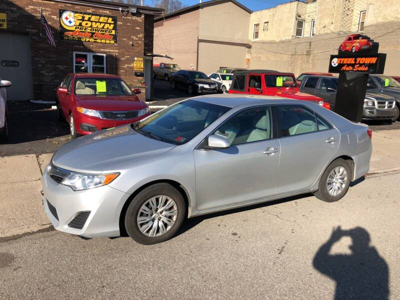 2012 Toyota Camry for sale at STEEL TOWN PRE OWNED AUTO SALES in Weirton WV