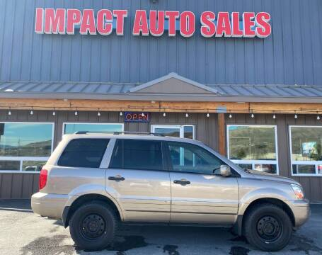 2003 Honda Pilot for sale at Impact Auto Sales in Wenatchee WA