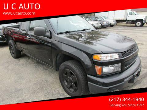 2009 Chevrolet Colorado for sale at U C AUTO in Urbana IL