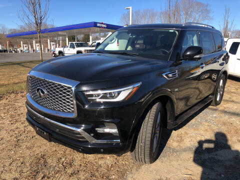 2018 Infiniti QX80 for sale at AUTO OUTLET in Taunton MA
