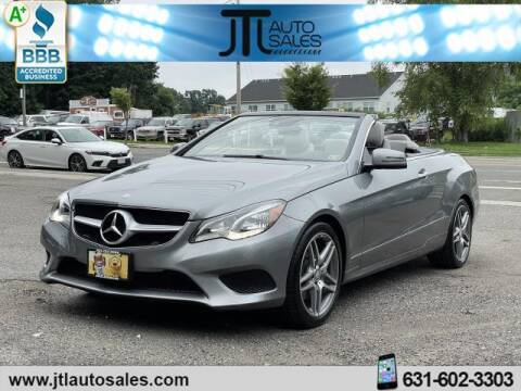 2014 Mercedes-Benz E-Class for sale at JTL Auto Inc in Selden NY