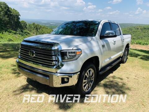 2021 Toyota Tundra for sale at RED RIVER DODGE - Red River of Malvern in Malvern AR