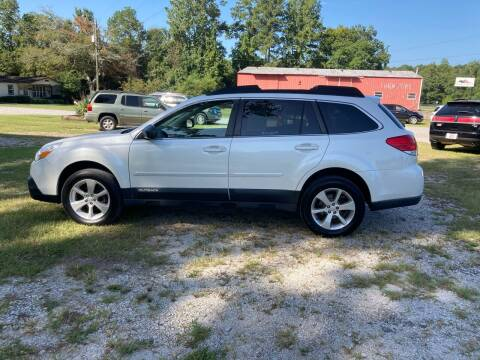2013 Subaru Outback for sale at Joye & Company INC, in Augusta GA