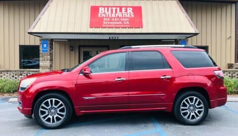 2013 GMC Acadia for sale at Butler Enterprises in Savannah GA