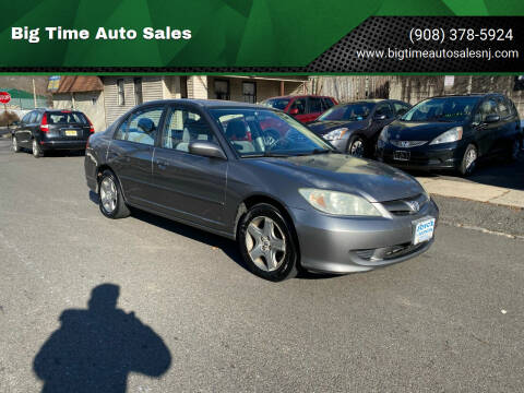 2004 Honda Civic for sale at Big Time Auto Sales in Vauxhall NJ