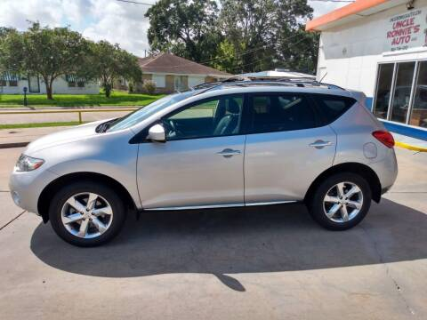 2010 Nissan Murano for sale at Uncle Ronnie's Auto LLC in Houma LA