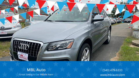 2011 Audi Q5 for sale at MBL Auto in Fredericksburg VA