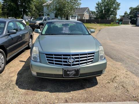 2007 Cadillac DTS for sale at Nelson's Straightline Auto - 23923 Burrows Rd in Independence WI