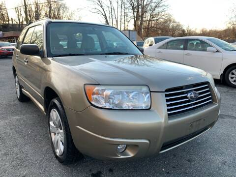 2008 Subaru Forester for sale at D & M Discount Auto Sales in Stafford VA