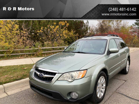 2009 Subaru Outback for sale at R & R Motors in Waterford MI