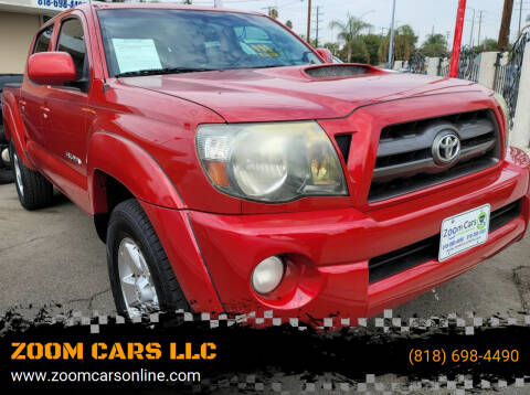 2009 Toyota Tacoma for sale at ZOOM CARS LLC in Sylmar CA