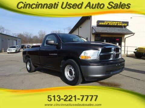 2011 RAM Ram Pickup 1500 for sale at Cincinnati Used Auto Sales in Cincinnati OH