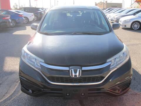 2016 Honda CR-V for sale at T & D Motor Company in Bethany OK